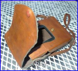 1975 Polaroid SX-70 Alpha 1 Camera Leather Trim & Case Tested Working Very Nice