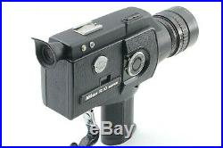 ALL WORKS Nikon R10 Super 8mm Movie Camera With Leather Case #704