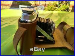 Agfa Super Isolette Camera with Leather Case