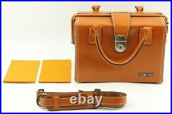 Almost UNUSED Contax Carl Zeiss Camera Case Bag Genuine Leather G1 G2 Japan