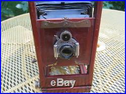 Antique Empire State Camera Variation 3 WithTripod, Leather Case & Accessories