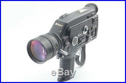 Appearance N. MINT Nikon R10 Super 8mm Movie Camera With Leather Case #579