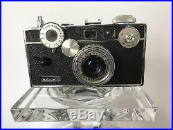 Argus C3 Camera and Lens 50mm Leather Case Manual Light Meter Made In USA