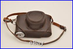 Beautiful Leica IIIg Camera Body with Leather Ever-ready Case