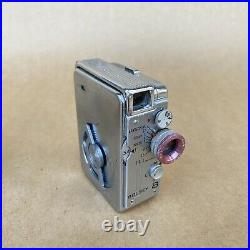 Bolsey Subminiature Super 8 Movie Camera With Leather Case, Filters