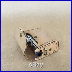 Bolsey Subminiature Super 8 Movie Camera With Leather Case, Filters & Film