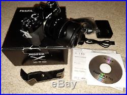 Boxed Exc. Digital Compact System Camera Fujifilm X-T10 + Half leather case