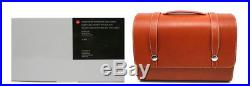 Brand New Leica Schedoni System Brown Leather Case Bag Size L 14874 / 26645