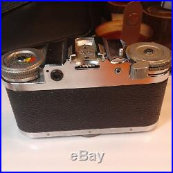 Braun Paxette 35mm Camera, Rare Lenses & Add ons, Leather Case