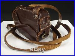 CP GOERZ WEIN MINICORD 16mm TLR Subminiature Camera 2.5cm f2 LEATHER CASE nice