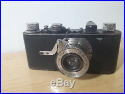 Camera Leica 1 model A with lens f=50mm 13.5 and leather case