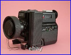 Canon 514 XL-S Super 8 Camera with Leather Case