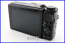 Canon PowerShot G7 X 20.2MP Digital Camera Exc+++ withLeather case, 8GB Y094