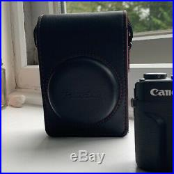 Canon PowerShot G7 X Mark II Digital Camera with Leather Case