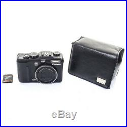 Canon Powershot G9 Digital Camera with Leather Case Mint