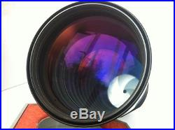 Carl Zeiss Red MC 4/300mm Lens PB 4 Canon Sony NEX M4/3 DSLR Camera+Leather Case