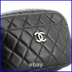 Chanel Camera Case Bag Quilted Lambskin Mini