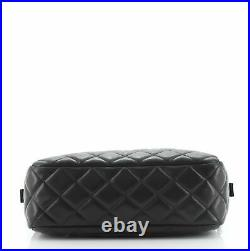 Chanel Camera Case Bag Quilted Lambskin Small