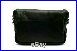 Clean Condition Ona Bowery Leather Camera Bag Case, Black #29511