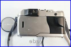 Contax G1 35mm Film Camera with Carl Zeiss Planar 45mm F2 with OEM Leather Case
