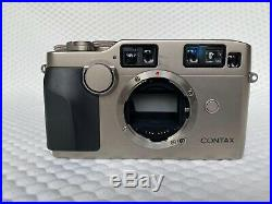 Contax G2 35mm Film Camera, 35mm f2 Lens, 90mm f2.8 Lens & Leather Case- VGC