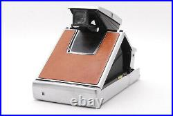 EXC+5 Polaroid SX-70 Land Camera With Leather Case From JAPAN
