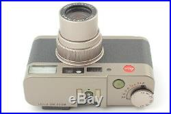 EXC+5 in Box with Leather case LEICA CM ZOOM 35mm Film Camera from JAPAN S167