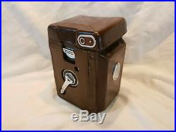EXC+++++Rolleiflex Type 2 TLR Camera with Xenotar 75mm F/3.5E & Leather Case