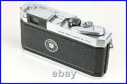 EXC+++++ with Leather Case Canon P 35mm Rangefinder Camera + 50mm f/1.8 LTM Lens