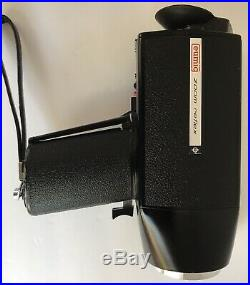 Eumig Viennette 3 Super 8 Camera Vintage Hinomoto Leather Camera Case Tested