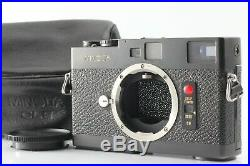 Exc+5 MINOLTA CLE 35mm Rangefinder Film Camera withLeather Case Japan #M1028