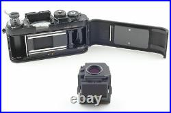 Exc+5 Nikon F3 HP 35mm SLR Film Camera Black with Leather case Strap From Japan