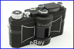 Exc+++ Panon WIDELUX F7 35mm Panoramic Film Camera with Leather case #705