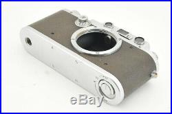 Excellent Leica IIIa 35mm Rangefinder Camera with Leather Case from Japan #3942