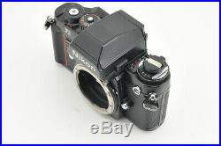 Excellent Nikon F3 HP Body SLR Film Camera with Leather Case from Japan #3772