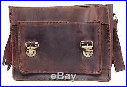FeatherTouch Genuine Leather Camera Bag Messenger Bag Camera Case Leather Bag