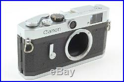 FedExMINT Canon P 35mm Rangefinder Film Camera Body with Leather Case From JAPAN