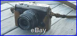 Fuji x-e3 Mirrorless Camera with Lens And Leather Case