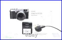 Fuji x100 Digital Camera, Battery, Charger and Leather Case + Free UK Postage