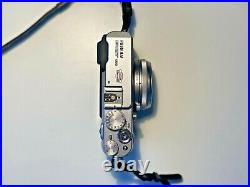 Fujifilm FinePix X100 Digital Camera with Brown Leather Case and Strap