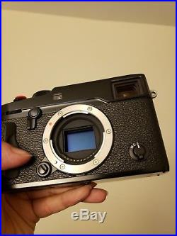 Fujifilm X Series X-Pro 2 Camera body with Grip and leather case