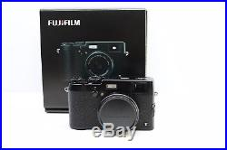 Fujifilm X Series X100T 16.3MP Digital Camera with Brown Leather Case Black SC