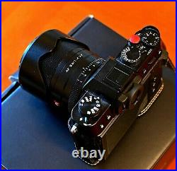 Fujifilm X-T30 Mirrorless Digital Camera Black- Camera only with leather case