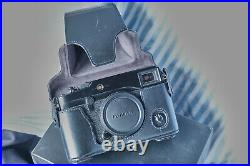 Fujifilm X-pro1 camera, body only, with leather case, in nice order