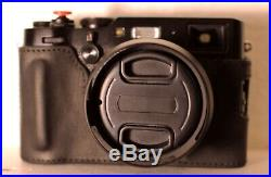 Fujifilm X100F Digital Camera Black With Bundled Accessories And Leather Case