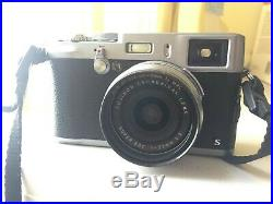 Fujifilm X100S 16.3MP Digital Camera Silver with Leather Case + Xtras #41A02674
