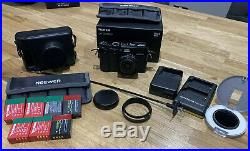 Fujifilm X100f Camera Only 1900 Shots 7 Batteries Leather Case +++++