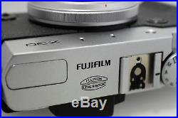 Fujifilm X30 Camera Silver with Boxed with Leather case