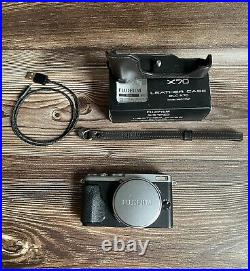 Fujifilm X70 Digital Compact Camera + leather case + 32Gb SD card Excellent