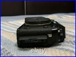 Fujifilm XT-1 Camera (Black Body Only) with Leather Case Mint Condition